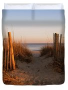 Early Morning At Myrtle Beach Sc Duvet Cover