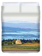 Early Morning At Sentinel Rock Duvet Cover
