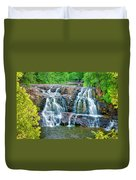 Early Morning At The Upper Falls Duvet Cover