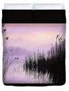 Early Morning By The Pond  Duvet Cover