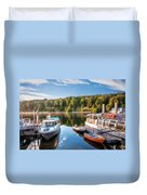 Early Morning Cruises To Doubtfull Sound Duvet Cover