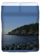 Early Morning In Acadia Duvet Cover
