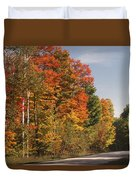 Early Morning In Door County Duvet Cover