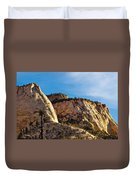 Early Morning In Zion Canyon Duvet Cover