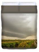 Early Morning Nebraska Storm Chasing 016 Duvet Cover