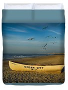 Early Morning Ocean City Nj Duvet Cover