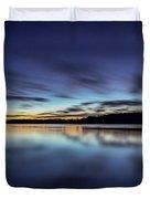 Early Morning On Lake Lanier Duvet Cover
