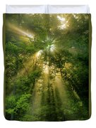 Early Morning Peace Duvet Cover