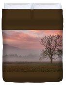 Early Morning Promises Duvet Cover