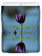 Early Morning Reflection Duvet Cover
