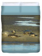 Early Morning Relaxation Duvet Cover