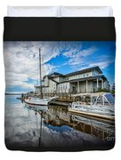 Early Sailing - Color Duvet Cover
