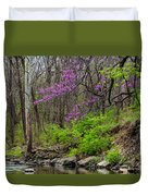 Early Spring On Mill Creek 2 Duvet Cover