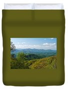 Early Spring On The Blue Ridge Parkway Duvet Cover