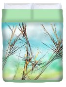 Early Spring Twigs Duvet Cover
