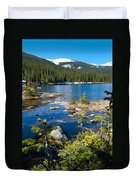 Early Summer At Finch Lake Duvet Cover