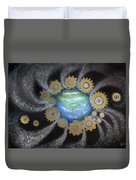 Earth #1 - You Are Here Duvet Cover