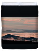 Earth And Sky. Duvet Cover