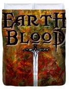 Earth Blood Cover Art Duvet Cover