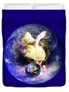 Earth Chick Duvet Cover