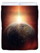 Earth Emerges Duvet Cover