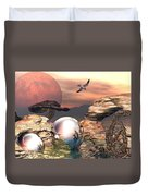 Earth Pearls Duvet Cover