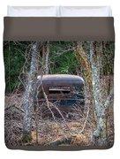 Earth Reclaims A Truck Duvet Cover