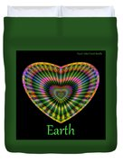 Earth Duvet Cover by Visual Artist Frank Bonilla