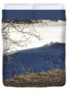 Earth Water And Ice Duvet Cover
