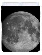 Earth's Moon Phase Full Moon Duvet Cover