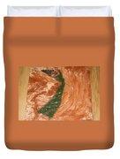 Earths Wind - Tile Duvet Cover