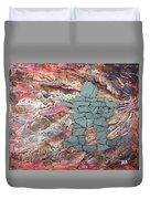 Earthwaves Inukshuk Duvet Cover