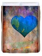 Earthy Heart Duvet Cover