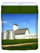 East Central Illinois Farm Buildings By Earl's Photography Duvet Cover