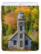 East Channel Lighthouse Duvet Cover