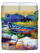 East Coast Boat Duvet Cover