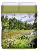 East Cramlington Nature Reserve Duvet Cover
