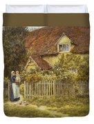 East End Farm Moss Lane Pinner Duvet Cover