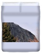 East Face Of Canon Mountain Duvet Cover