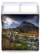 East Face Tryfan Snowdonia Duvet Cover