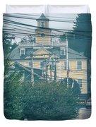 East Greenwich Rhode Island Waterfront Scenes Duvet Cover