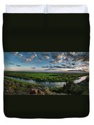 East Idaho View Duvet Cover