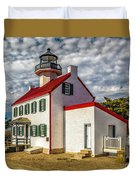East Point Light -renovated Duvet Cover