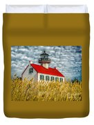 East Point On The Maurice River  Duvet Cover