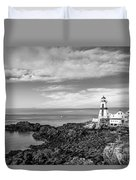 East Quoddy Lighthouse Duvet Cover