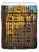 East Side Reflection Duvet Cover
