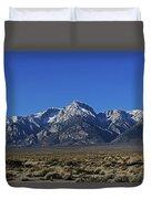 East Side Sierra Nevada Range Duvet Cover