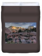 East Zion Canyon Sunrise Duvet Cover