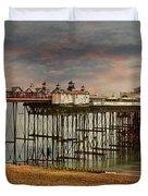 Eastbourne Pier Duvet Cover