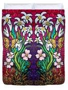 Easter Banner Duvet Cover
